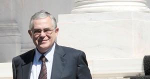 Ο πρωθυπουργός Λουκάς Παπαδήμος