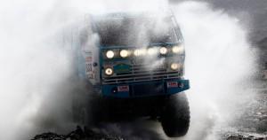 Το επιβλητικό Kamaz truck από το Καζακστάν.Πηγή  φώτο:((Jacky Naegelen/Reuters)