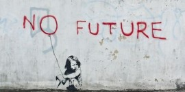Banksy 'No Future'