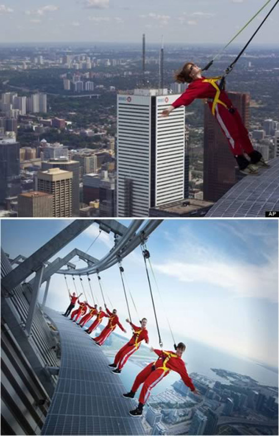 CN Tower Edge Walking, Τοronto