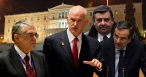 Λουκάς Παπαδήμος & οι Πολιτικοί αρχηγοί