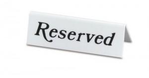 reserverd