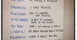 ένα ντόνατς στα social