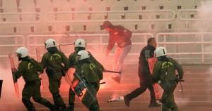 Επεισόδια στο ΟΑΚΑ στον αγώνα ΠΑΟ - Ολυμπιακός