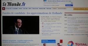 Le Monde site