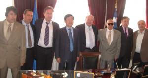 Επίσκεψη του Πρέσβη της Κίνας και Αντιπροσωπείας Κινέζων Διπλωματών στο Δημαρχείο Κεφαλονιάς