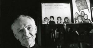 Robert Doisneau το 1994 στο στουντιό του