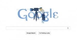 Google Doodle αφιερωμένο στον Θόδωρο Αγγελόπουλο