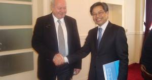 Επίσκεψη πρέσβη Βιετνάμ στην Κεφαλλονιά