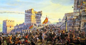 H άλωση της Κωνσταντινούπολης
