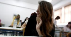 Πανελλαδικές εξετάσεις.Φωτογραφία : kathimerini.gr