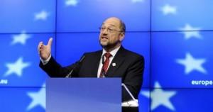 Ο πρόεδρος του Ευρωπαϊκού Κοινοβουλίου Μάρτιν Σούλτς