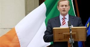Ο πρωθυπουργός της Ιρλανδίας Έντα Κένι