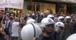 Διαπληκτισμοί στο κέντρο της Θεσσαλονίκης