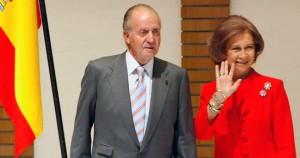 Ο Βασιλίας Χουάν Κάρλος & η Βασίλισσα  της Ισπανίας Σοφία