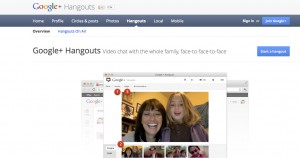 Hangouts on Air του Google+