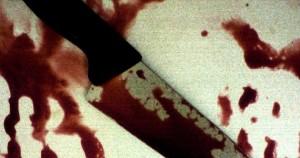 Μαχαίρι με αίματα
