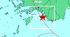 Ισχυρή σεισμική δόνηση μεταξύ Ρόδου και Καστελορίζου