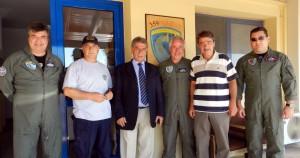 Επίσκεψη Περιφερειάρχη Ιονίων Νήσων σε Πυροσβεστική Υπηρεσία