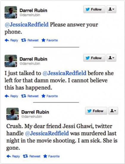 Η τραγωδία της πρεμιέρας του Μπάτμαν σε τρία συγκλονιστικά tweets