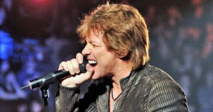 Ο τραγουδιστής John Bon Jovi