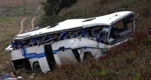 Παλαιότερο ατύχημα λεωφορείου ΚΤΕΛ -φωτ.αρχείου [EUROKINISSI // ΣΥΝΕΡΓΑΤΗΣ] (Πηγή φωτογραφίας: tovima.gr)