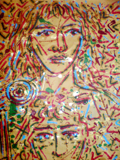 K.Eυαγγελάτος  art, paris 2012