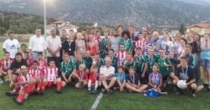 Ποδοσφαιρικός αγώνας στο Δίστομο