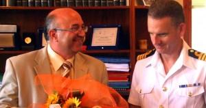 Επίσημη επίσκεψη του Βρετανού Κυβερνήτη του Αντιτορπιλικού «HMS Daring»