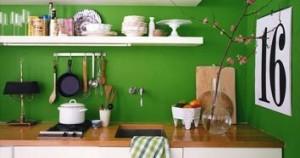 """Συμβουλές για μια """"πράσινη"""" κουζίνα"""