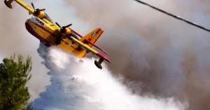 Αεροσκαφός-Κατάσβεση πυρκαγιάς