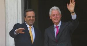 A.Σαμαράς - Μπιλ Κλίντον