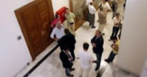 Ένταση με Υπαλλήλους της Βουλής