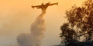 Μεγάλη πυρκαγιά στη Χίο