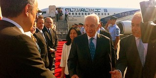 O πρόεδρος του Ισραήλ Σ.Πέρες