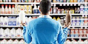 Αγοράζοντας γάλα