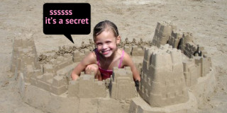 Το μυστικό του τέλειου κάστρου στην άμμο