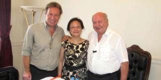 Κινεζική αντιπροσωπεία στην Κεφαλλονιά