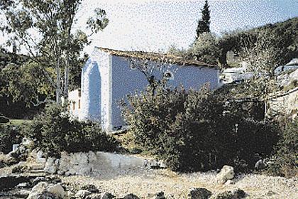Αθέρας,η Εκκλησία του Αγ.Σπυρίδωνα (Φωτο:Η.Μπεριάτος)