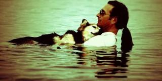 Ο John Unger και ο σκύλος του Schoep