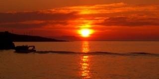 Aυγουστιάτικο ηλιοβασίλεμα
