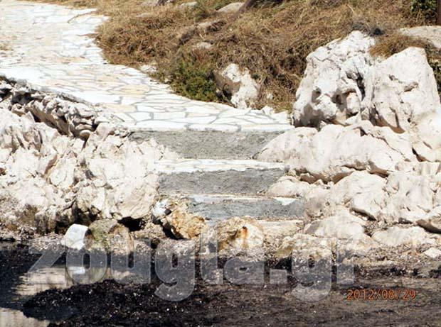 Κατασκευάστηκαν σκαλιά