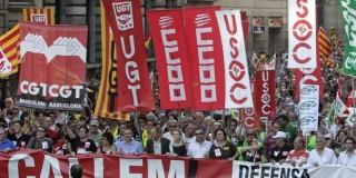 Διαδηλώσεις στην Ισπανία