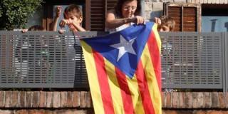 η σημαία της Καταλονίας