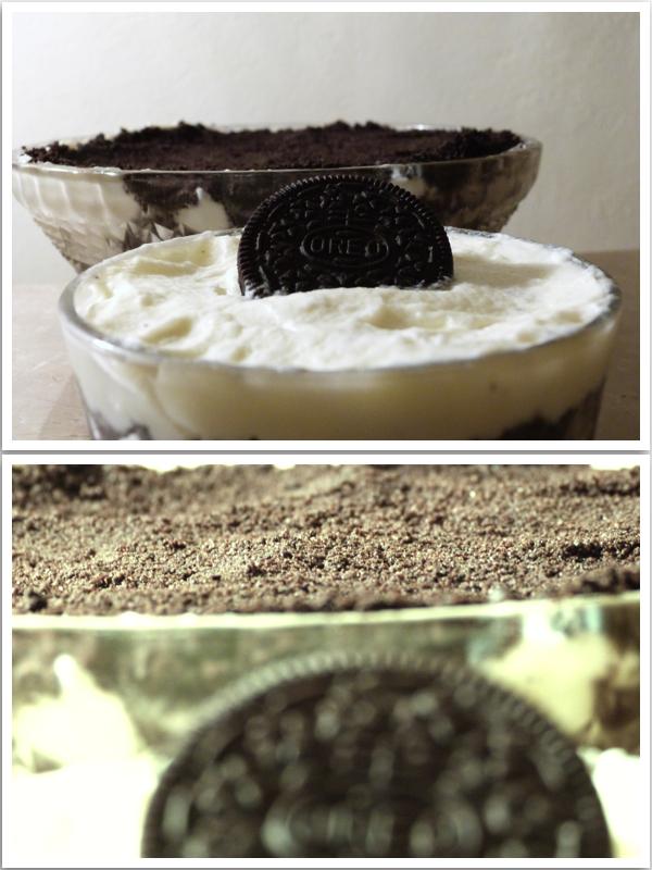Κρέμα με τριμμένα μπισκότα Oreo