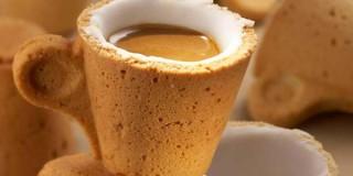 Πιείτε τον καφέ και φάτε την κούπα