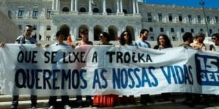 Διαδήλωση στην Πορτογαλία