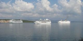 Τρία Κρουαζιερόπλοια «κοιτούν» το Αργοστόλι