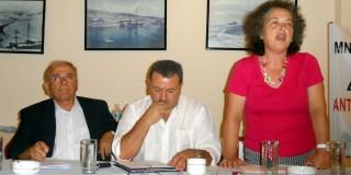 Λαϊκή συγκέντρωση ΣΥΡΙΖΑ-ΕΚΜ