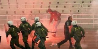 Επεισόδια στο Ολυμπιακό σταδιο